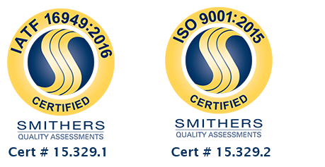 Certs - Howell | Thomson Plastics